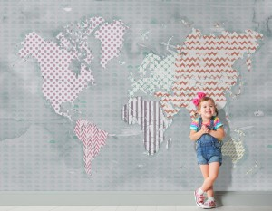 DR - Tapeta One World - Kids