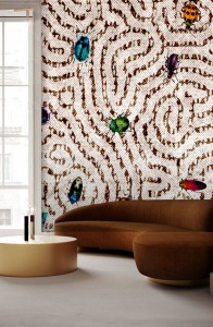 Tapeta - One Wall Design - robaki