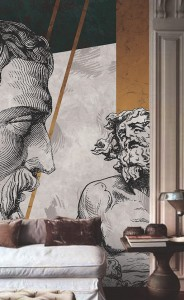 Tapeta - One Wall Design - POSTIGLIONE